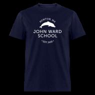 T-Shirts ~ Men's T-Shirt ~ WHITE LOGO - Men's T-Shirt - Multiple color choices available
