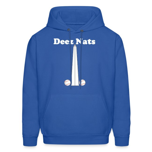 uk availability ff057 3f879 Washington Nationals Deez Nats Blue Hoodie | Men's Hoodie