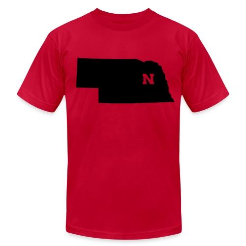 NEBRASKA - Men's Fine Jersey T-Shirt
