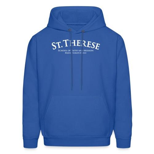 St. Therese Blue Hoodie - Men's Hoodie