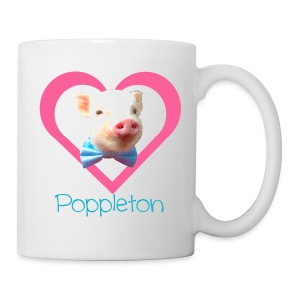Poppleton Heart Mug - Coffee/Tea Mug