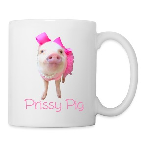 Prissy Pig Mug - Coffee/Tea Mug
