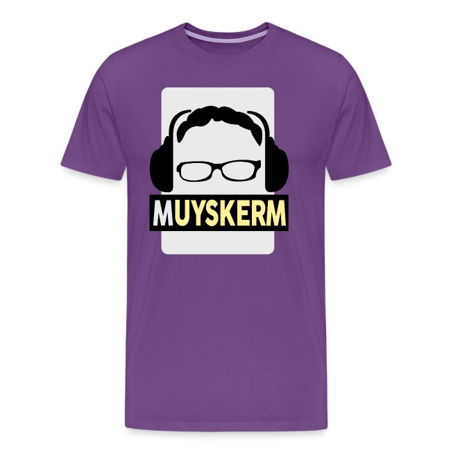 muyskerm patreon supporter shop muyskerm logo shirt mens premium
