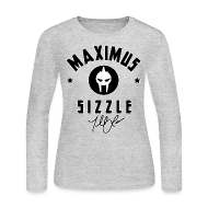 Long Sleeve Shirts ~ Women's Long Sleeve Jersey T-Shirt ~ Maximus Sig Womens Long Sleeve