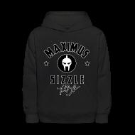 Sweatshirts ~ Kids' Hooded Sweatshirt ~ Maximus Sig Kids Hoodie