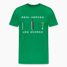 Real Heroes Use Swords