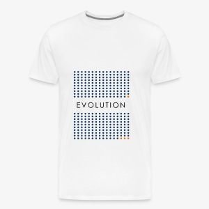 Minimalist design: evolution - Men's Premium T-Shirt