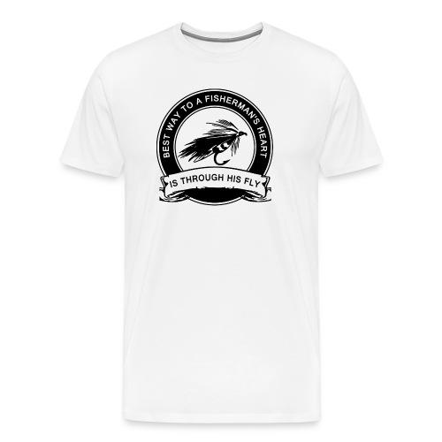 Fly Fishing Humor - Men's Premium T-Shirt