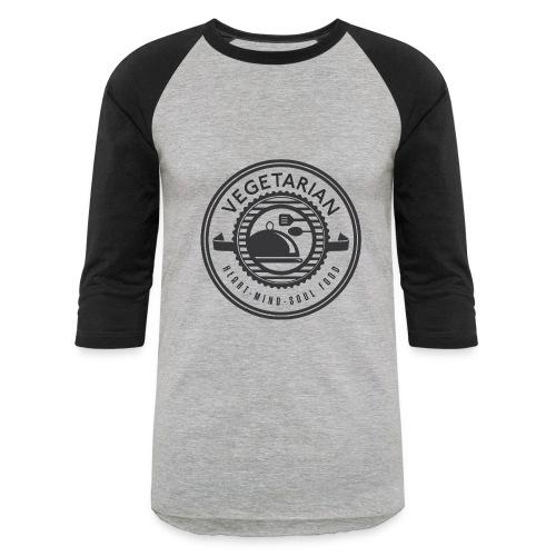Vegetarian men's shirt - Baseball T-Shirt