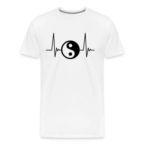 Yin Yang- Male - Men's Premium T-Shirt