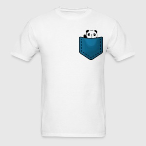 Panda in a pocket T-Shirts - Men's T-Shirt