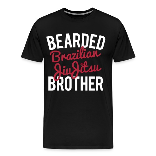 DMcKP BEARDED BJJ BRO - Mens - Men's Premium T-Shirt