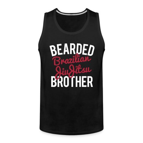 DMcKP BEARDED BJJ BRO - Mens - Men's Premium Tank