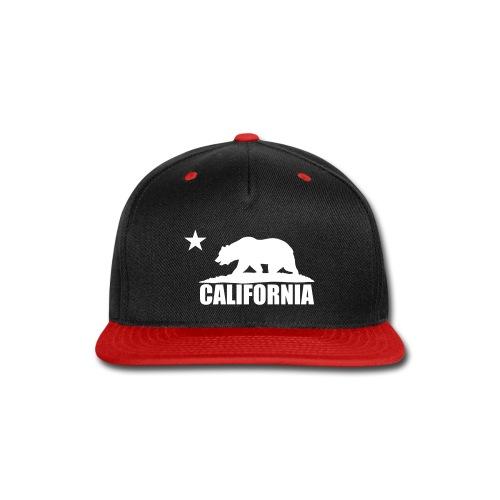 NEW!    California - Snap-back Baseball Cap