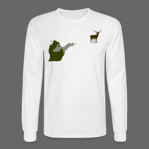 Best Friends Hunting - Men's Long Sleeve T-Shirt