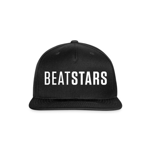 Black Baseball Hat - Snap-back Baseball Cap