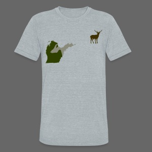 Best Friends Hunting - Unisex Tri-Blend T-Shirt by American Apparel
