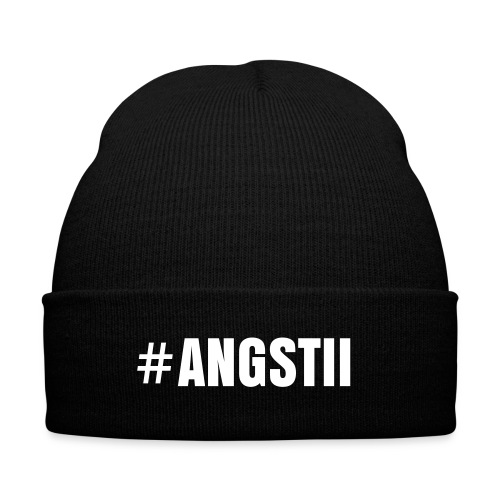 #Angstii Pipo - Knit Cap with Cuff Print