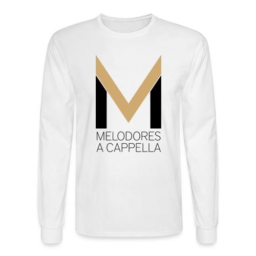 Men's MeloLongSleeve (White) - Men's Long Sleeve T-Shirt
