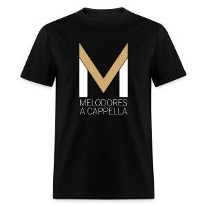 Men's MeloTee (Black) - Men's T-Shirt