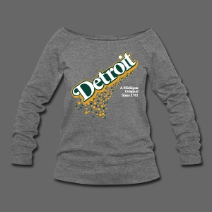 A Michigan Original - Women's Wideneck Sweatshirt