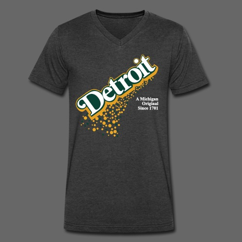 A Michigan Original - Men's V-Neck T-Shirt by Canvas