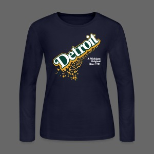 A Michigan Original - Women's Long Sleeve Jersey T-Shirt