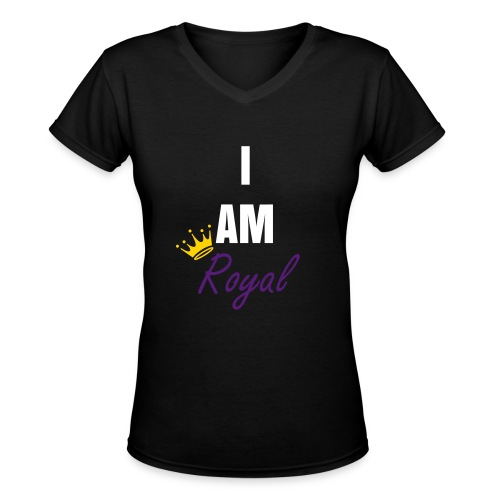 Royals - Women's V-Neck T-Shirt