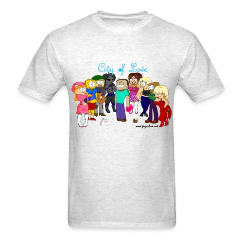 City of Love Steve Edition - Men's T-Shirt