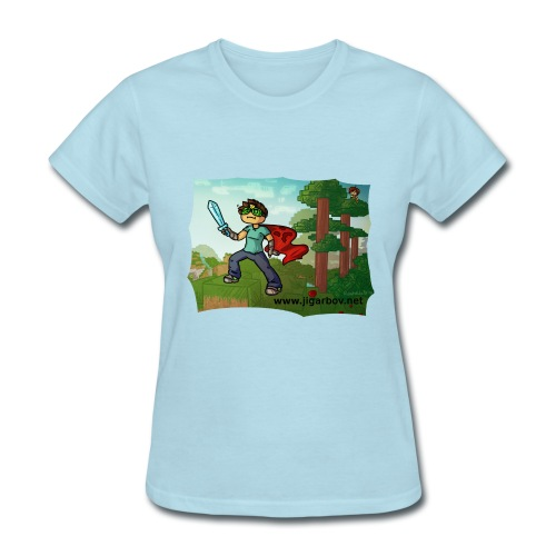 Jigarbov Goes Adventuring - Women's T-Shirt