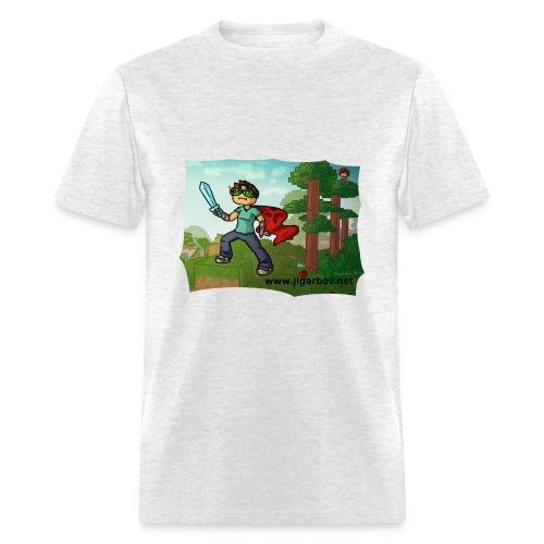 Jigarbov Goes Adventuring - Men's T-Shirt