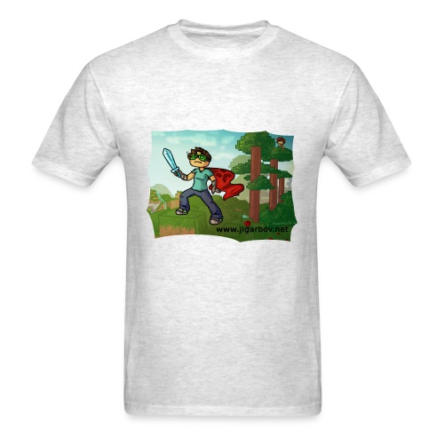 Jigarbov Goes Adventuring - Men's T-Shirt