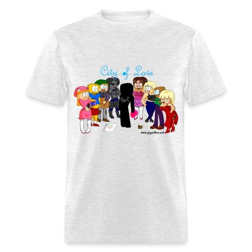 City of Love Male - Men's T-Shirt