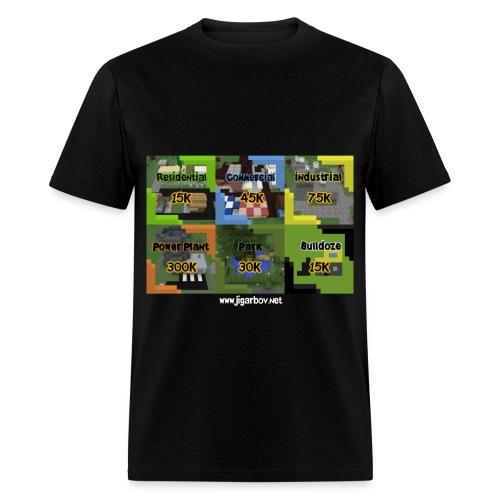 Simburbia Plots - Men's T-Shirt