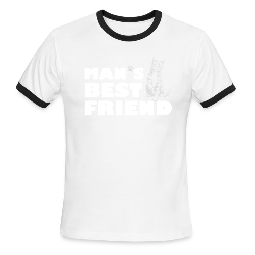 Man's Best Friend Ringer Tee - Men's Ringer T-Shirt