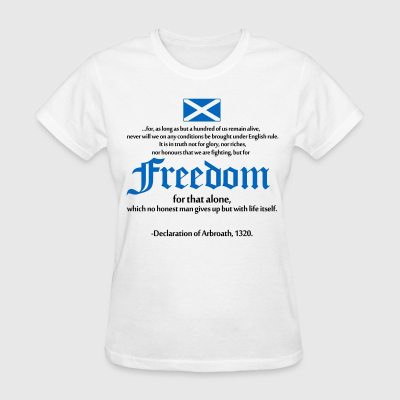 Declaration of Arbroath Women's T-Shirts - Women's T-Shirt