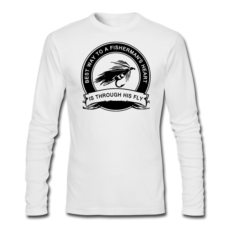 Fly fishing humor t shirt spreadshirt for Fishing shirts that keep you cool