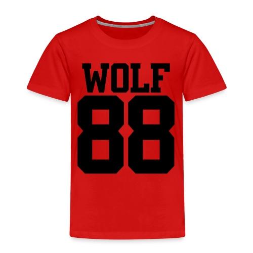 Wolf 88' - Toddler Premium T-Shirt