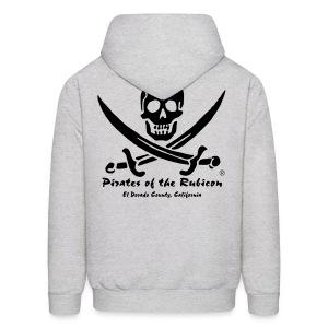 Mens Club Hoodie - Grey - Men's Hoodie
