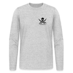 Mens Club Longsleeve Shirt - Grey - Men's Long Sleeve T-Shirt by Next Level
