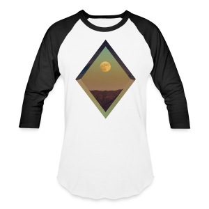 Moon Diamond - BASEBALL BLACK - Baseball T-Shirt