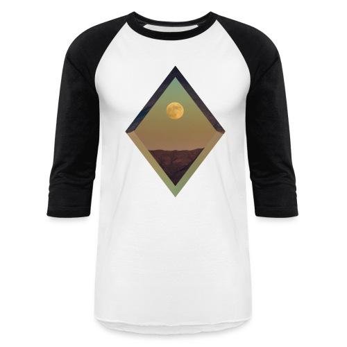 Moon Diamond - BASEBALL BLACK - Baseball T-Shirt