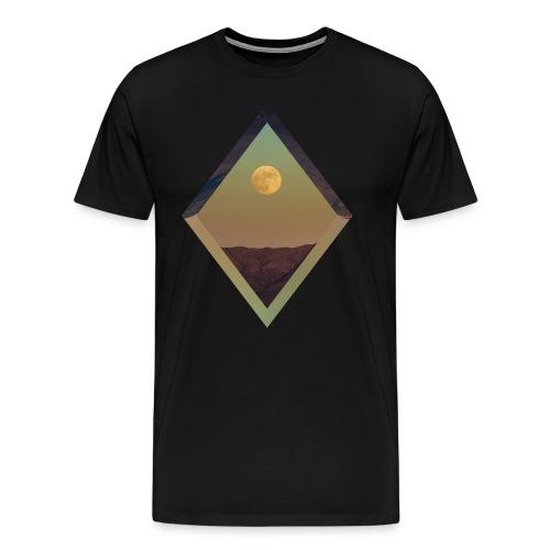 Moon Diamond - BLACK - Men's Premium T-Shirt