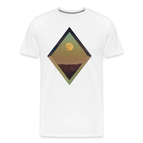 Moon Diamond - WHITE - Men's Premium T-Shirt
