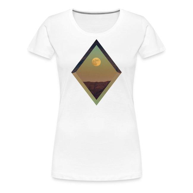 Moon Diamond - WOMENS WHITE
