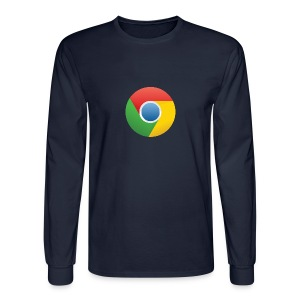 Google Chrome Logo T-Shirt - Men's Long Sleeve T-Shirt