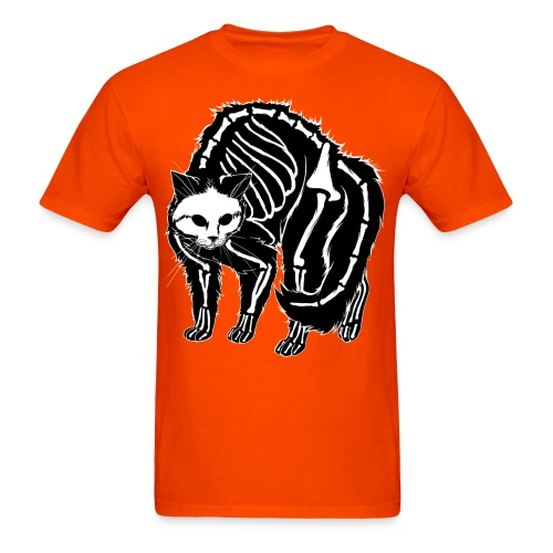 Scaredy Cat (black) - Men's T-Shirt