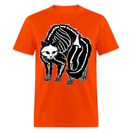 Scaredy Cat (black) - Men's T-Shirt