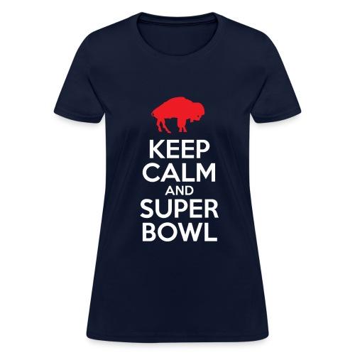 Keep Calm (W) - Stnd - Women's T-Shirt