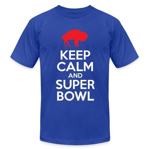 Keep Calm (M) - Slim - Men's Fine Jersey T-Shirt
